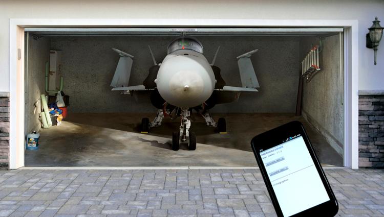 Tuxgraphics Org Smartphone Garage Door Opener